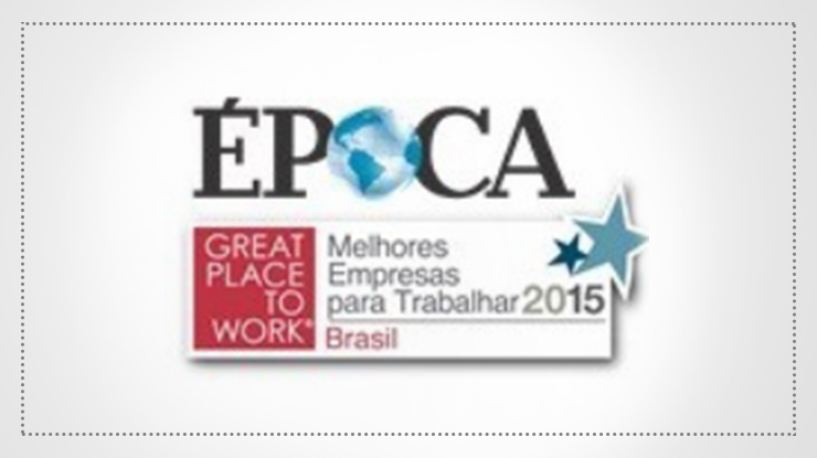 Revista Época - Great Place to Work 2015